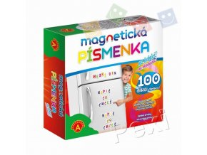 Magnetická písmenka - na lednici, Alexander