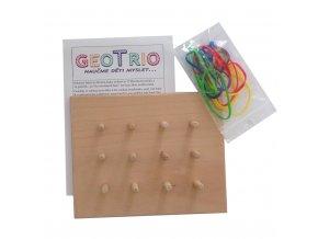 Dřevěná deska GeoTrio