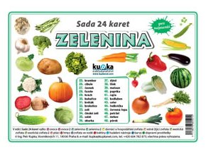 Zelenina - Sada 24 karet, Petr Kupka
