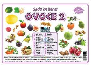 Ovoce 2 - Sada 24 karet, Petr Kupka