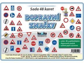 Sada 48 karet - dopravní značky A7, Petr Kupka