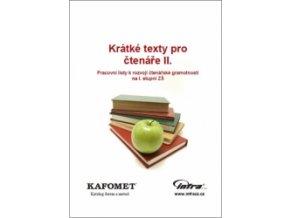 Krátké texty pro čtenáře II. - tištěná verze