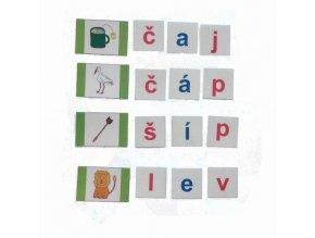 Montessori - Skládání slov 1
