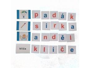 Montessori - Skládání slov 4