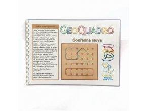 Souřadná slova - předloha GeoQuadro