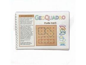 Podle tvarů - předloha GeoQuadro
