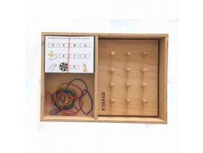 Dřevěná krabice GeoTrio