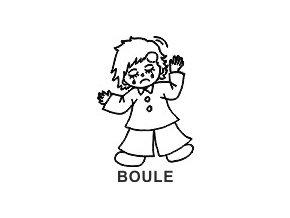 Obrázkové razítko - BOULE