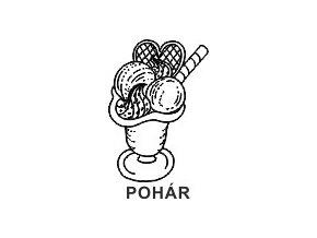 Obrázkové razítko - POHÁR
