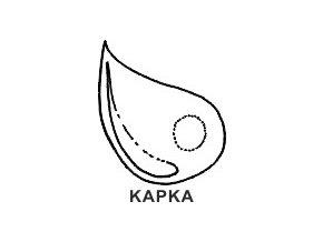 Obrázkové razítko - KAPKA