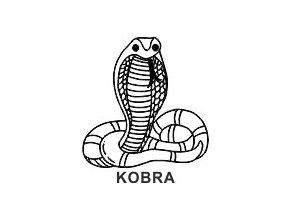 Obrázkové razítko - KOBRA