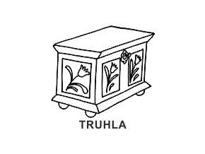 Obrázkové razítko - TRUHLA