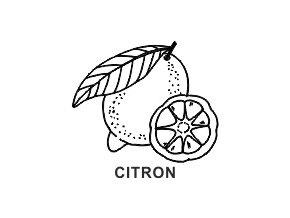 Obrázkové razítko - CITRON