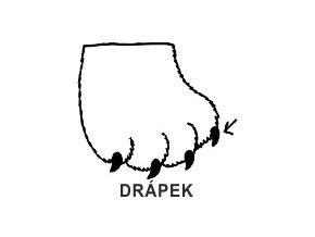 Obrázkové razítko - DRÁPEK