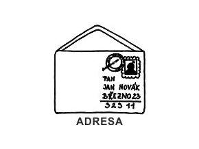 Obrázkové razítko - ADRESA