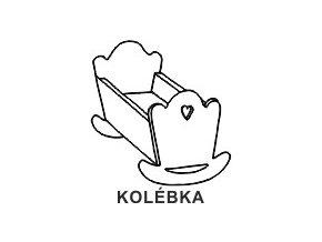 Obrázkové razítko - KOLÉBKA