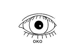 Obrázkové razítko - OKO