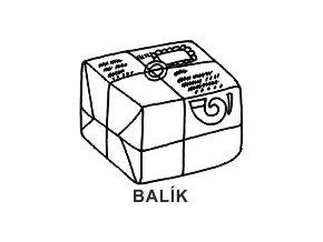Obrázkové razítko - BALÍK