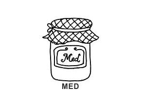 Obrázkové razítko - MED