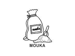 Obrázkové razítko - MOUKA