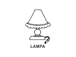 Obrázkové razítko - LAMPA