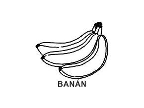 Obrázkové razítko - BANÁN