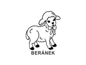 Obrázkové razítko - BERÁNEK