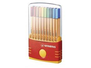 STABILO Liner Point 88 ColorParade 20ks + DÁREK