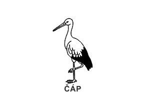 Obrázkové razítko - ČÁP