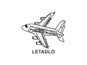 Obrázkové razítko - LETADLO