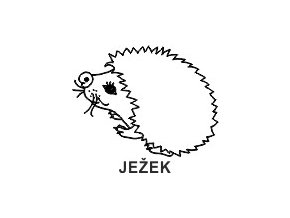 Obrázkové razítko - JEŽEK