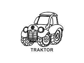 Obrázkové razítko - TRAKTOR