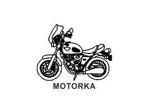 Obrázkové razítko - MOTORKA