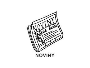 Obrázkové razítko - NOVINY