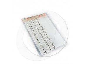 Didaktická sada - Magnetická písmenka pro první třídu (s podkladem)
