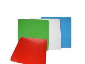 Komunikační kovová magnetická nástěnka - více barev