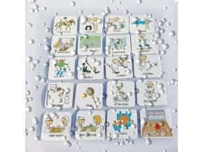 Set 20 ks piktogramů - Sportovní aktivity