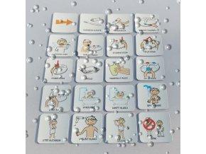 Set 20 ks piktogramů - Hygiena 1