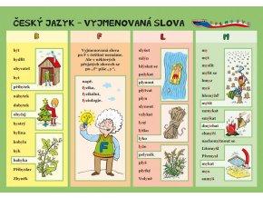 Český jazyk - Vyjmenovaná slova
