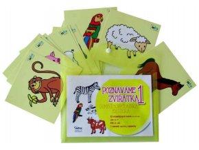 Didaktické karty Poznáváme zvířátka 1