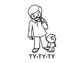 Obrázkové razítko - TY-TY-TY