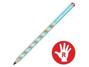 STABILO EASYgraph tužka 322/02-HB MODRÁ pro praváky