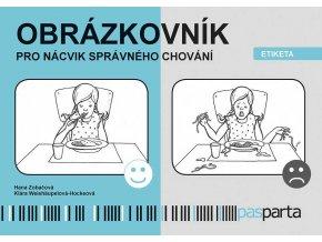 Obrázkovník pro nácvik správného chování Etiketa
