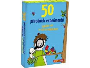 50 přírodních experimentů, Mindok