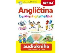 Angličtina barevná gramatika + CDmp3