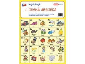 Najdi dvojici ceska abeceda