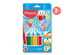 6060300084 Maped Color peps Maxi 12