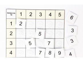 Třídící tabulky - sčítání do 10