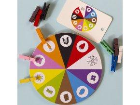 Kolíčky a deset barev