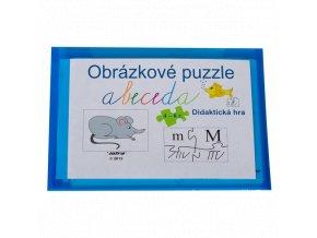 Obrazkove puzzle abeceda